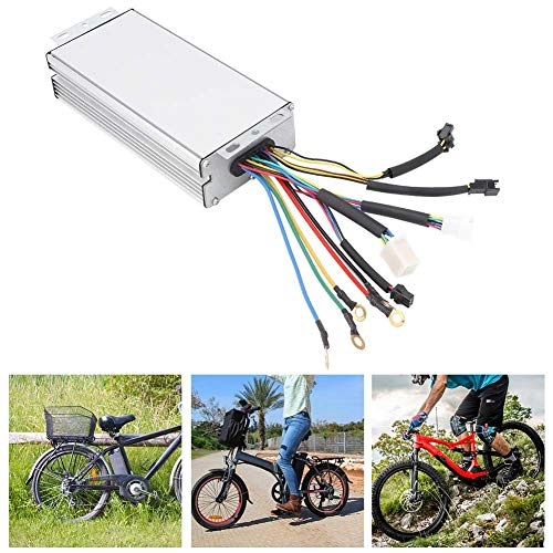 Bicycle Motor Controller,Brushless Motor Controller Electric Accessory for Mountain Bicycle 36V/48V 1000W/1500W Electric Bike Brushless Motor Controller for E-Bike Scooter Electric Skateboard