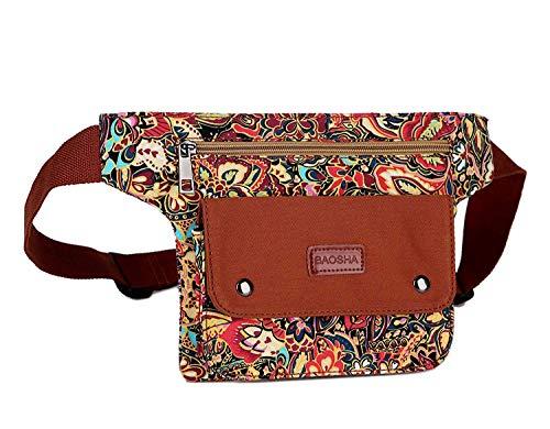 BAOSHA Travel Waist Fanny Packs Waist Wallet Bag for Women YB-03...