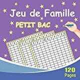 Jeu de Famille Petit Bac: Jeu du baccalauréat, Jeux de famille pour adultes et enfants, Jeu de société famille classique