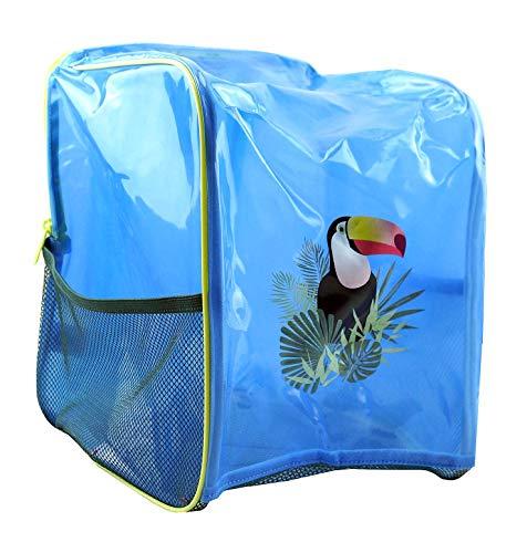 Tchibo TCM Kinder Strand Rucksack mit Netzboden Badetasche