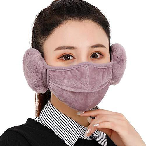 ZHX 1 Stück Winter Mund und nasenschutz Schutztuch Gesichtsschutz Schutzhülle Outdoor Schutztuch staubdicht Winddicht Mund Schal für die Sportmaske (PP)