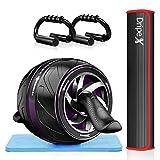 Dripex Bauchroller Set 4 IN 1 Bauchtrainer Fitnessset, AB Roller Bauchroller +...