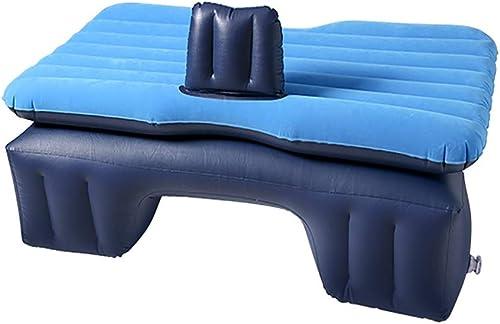 Zjcqc Ambm Lit Gonflable de Matelas de Voiture, lit de Voiture de siège arrière de Voiture pour Le lit de Voyage de Coussin de Voiture de Voiture de SUV, avec la Pompe à air