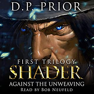 Against the Unweaving: Shader audiobook cover art