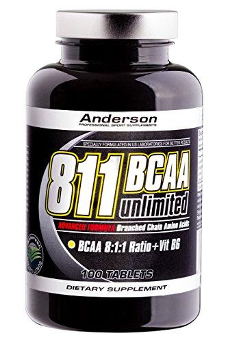 Anderson 811 BCAA aminoacidi ramificati con L Leucina potenziata NEW (100cpr)