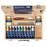 Zoom IMG-1 lefranc bourgeois cassetta legno olio