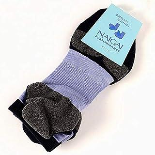 ナイガイ オリジナルブランド(レッグウェア)(NAIGAI) 3Dアーチフィットつま先かかとパイル【セレスト(62)/23-25】