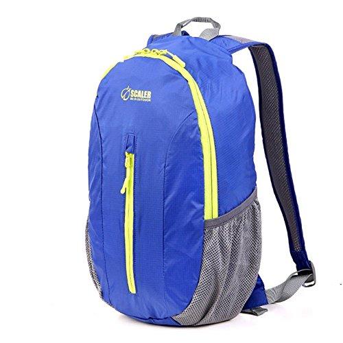 Backpack éclairage extérieur Sac Pliable/Sac de Peau/Sac à bandoulière/Purse-Blue 20L