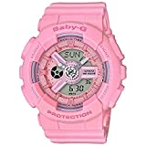 Casio Baby-G G-Shock BA-110 Series BA110-4A1 46.3mm Resin Women's Watch (Pink)