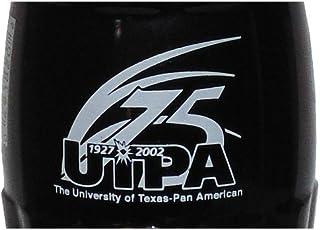 UTPA University Texas Pan American 75th 2002 Coca-Cola Bottle