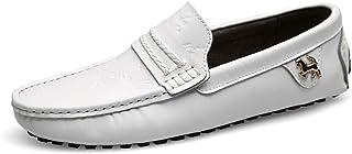 TAZAN Chaussure Mocassin Homme Cuir Été Nouveau 2019,Hommes Mode Mocassins Business Chaussures/Loafers Casual pour Homme C...
