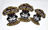 Fallout Atom Cats, The Kings, Small & Large Embroidered Patches - Screen Accurate (Medium Atom Cats Patch)
