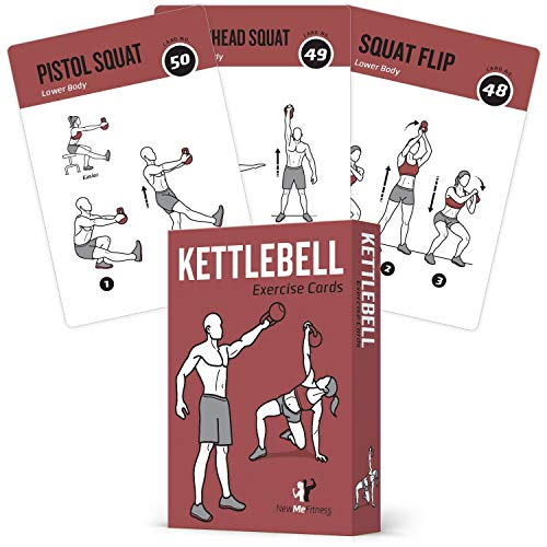 Exercise Cards Kettlebell - Home Gym Workouts...