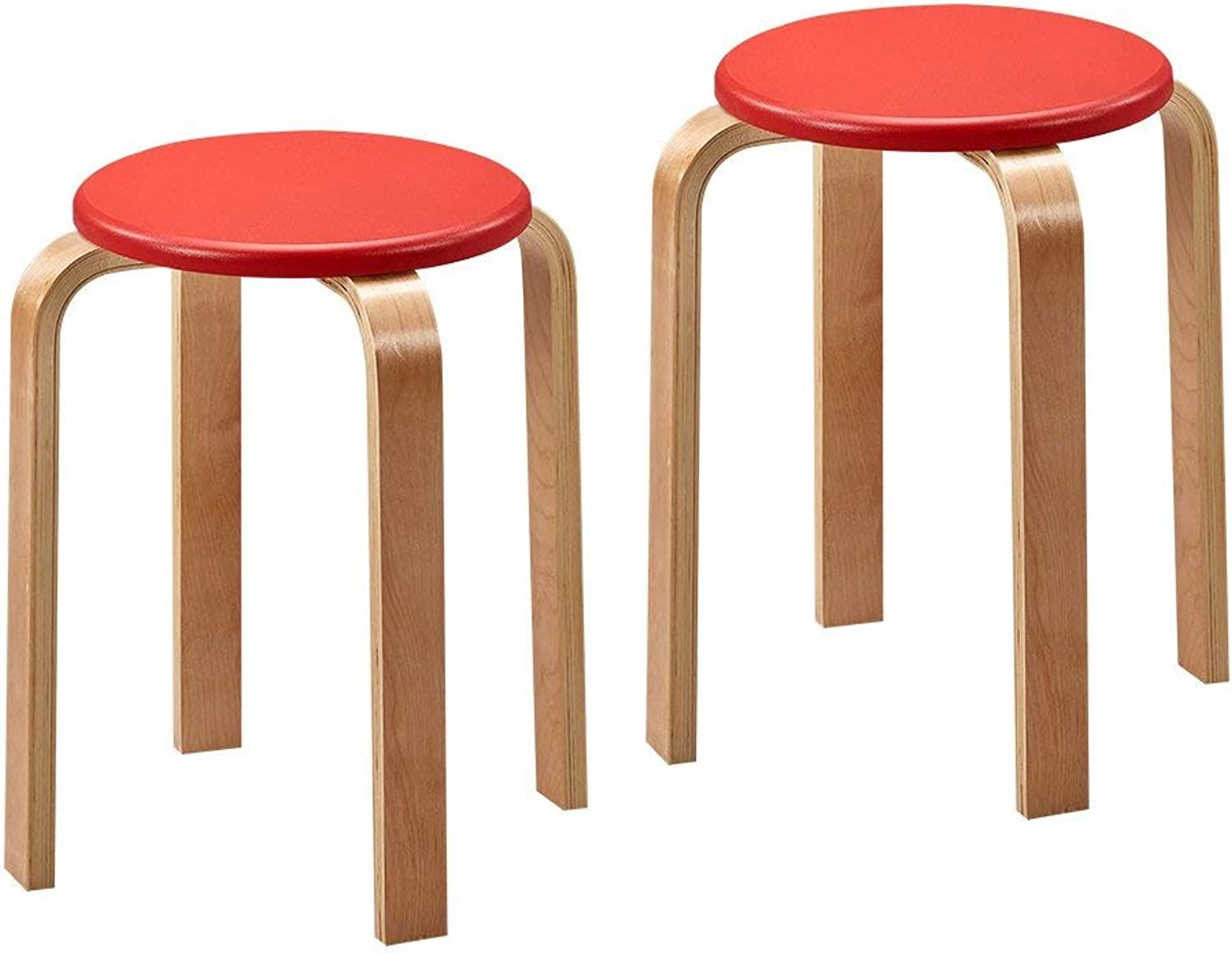 Sensational Monfs Home Plastic Plastic Plastic Stool Thick Solid Wood Gmtry Best Dining Table And Chair Ideas Images Gmtryco