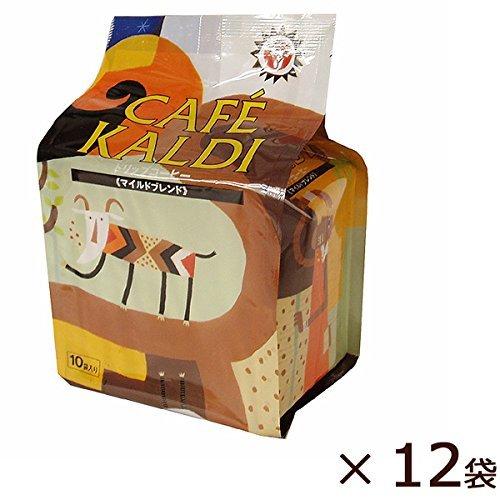 <★セット販売>カフェカルディ ドリップコーヒー マイルドカルディ(10g×10P)×12個