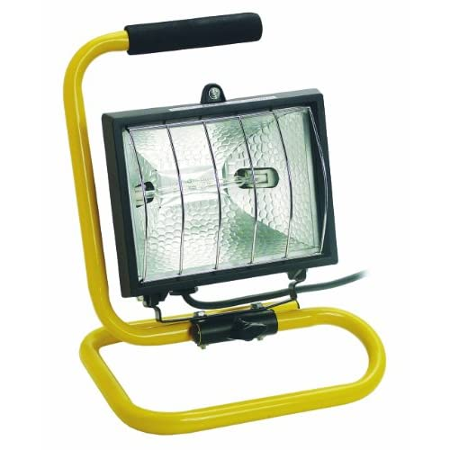 Bachmann 720.013 - Faretto alogeno mobile, cavo d'alimentazione: 2 m, colore: Nero