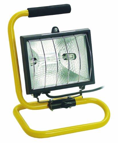 Bachmann 720.013 Lampe halogène mobile avec câble de 2 m Noir