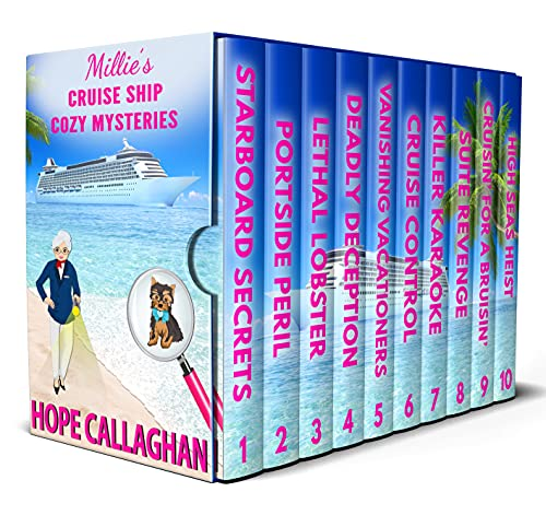 Millie\'s Cruise Ship Mystery Novels: Books 1-10 (Millie\'s Cruise Ship Mysteries Deluxe Box Set Book 1) (English Edition)