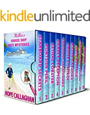 Millie's Cruise Ship Mystery Novels: Books 1-10 (Millie's Cruise Ship Mysteries Deluxe Box Set Book 1) (English Edition)