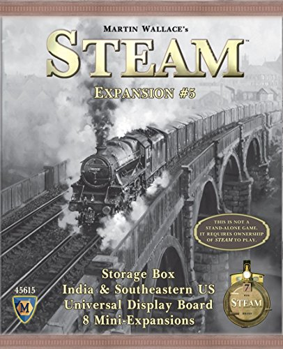 Mayfair Games Europe MFG45615 - Steam Expansion 5: Boxcar, Familien Standardspiele
