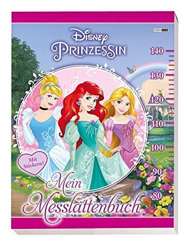 Disney Prinzessin: Mein Messlattenbuch: mit Ausmalbildern und Stickern