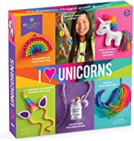Craft-tastic I Love Unicorns – Award-Winning Craft Kit for Kids – Everything Included for 6 Fun DIY Magic Art & Crafts...
