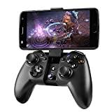 Madgiga ゲームパッド コントローラー Android/WindowsPC/PS3/Samsung Gear VRなど対応 ワイヤレス/Bluetooth/有線接続/ 振動機能 耐久ボタン USBケーブル同梱