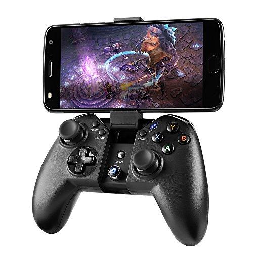 Madgiga bluetooth ゲームパッド android コントローラー bluetooth pcゲーム コントローラー ワイヤレス...