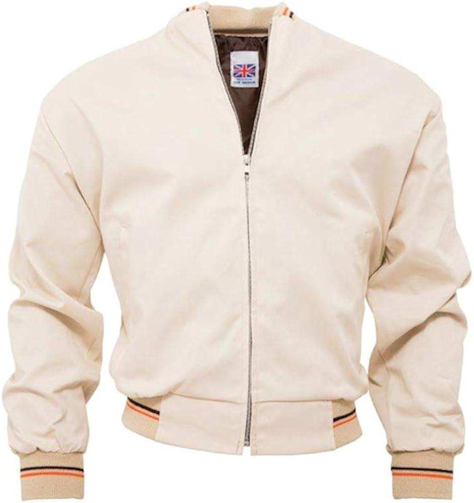 50s Men's Jackets | Greaser Jackets, Leather, Bomber, Gabardine Mens Relco Vintage Retro Mod Monkey Jacket  AT vintagedancer.com