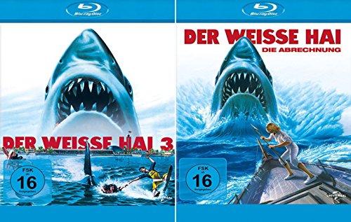 Der weisse Hai 3 + 4 Collection [2er BluRay-Set]
