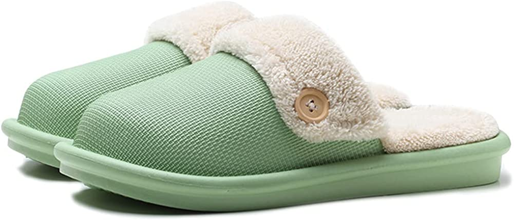 New Max 67% OFF arrival Women's Winter Waterproof Thick-soled Slippers Plush Cotton Lini