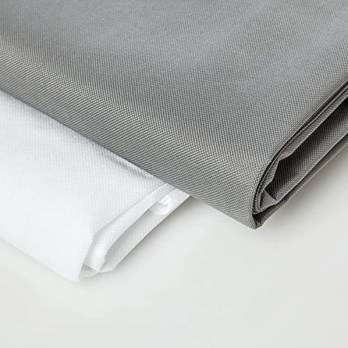 Lumaland Sitzsackhülle ohne Füllung Luxury Riesensitzsack XXL Sitzsack Bezug Hülle PVC Polyester 140 x 180 cm - Wasserabweisender Sitzsackbezug - Grau