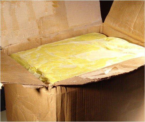 Raw Unrefined Shea Butter Grade A from Ghana 7.5 Lbs