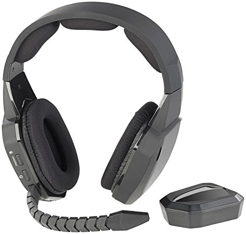 auvisio Wireless Headset: Kabelloses Gaming-Funk-Headset mit TOSLINK & 12-Stunden-Akku, 2,4 GHz (PS4 Headset)
