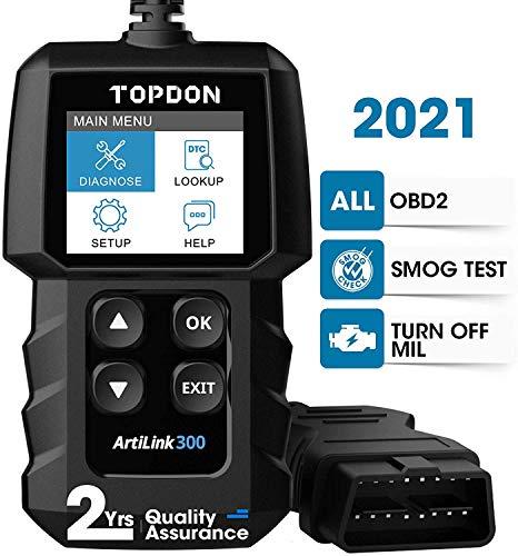 TOPDON AL300 Outil Diagnostic Auto avec Fonctions OBD2 Complètes, Lecteur de Code OBD2 pour Éteindre Le Voyant du Moteur, Vérifier...