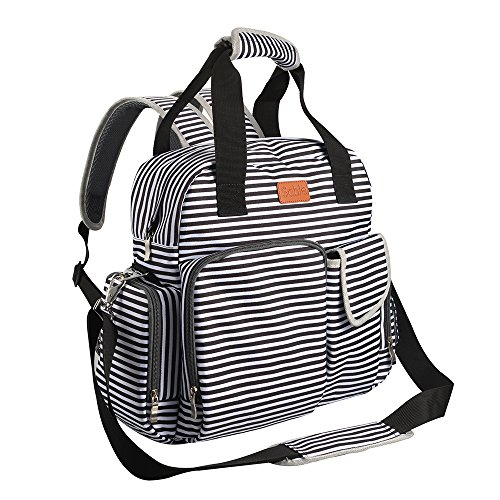 Tote Diaper Bag Backpack, Multifunction...