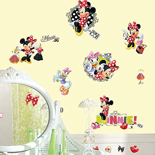 Stickers Repositionnables Disney Minnie Mouse Fashionista