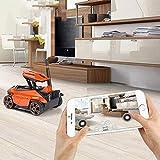 Tanque RC con cámara HD con WiFi FPV 0.3MP Cámara Aplicación Tanque de Control Remoto RC Juguete...