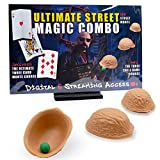 Magic Makers The Complete Street Magic Experience - Authentic Monte Kit Including Magic Training by Sal Piacente, Performance Pad and Props
