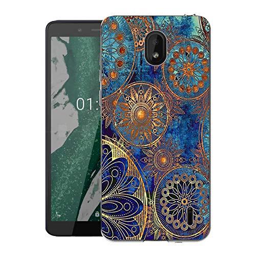 CaseExpert Nokia 1 Plus Custodia Cover, Silicone Caso Molle di TPU Sottile Anti Scivolo Case Posteriore della Copertura per Nokia 1 Plus