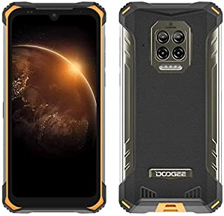 DOOGEE S86 Outdoor Smartphone zonder abonnement, 8500mAh batterij, Helio P60 6GB + 128GB, IP68 & IP69K waterdichte mobiele...