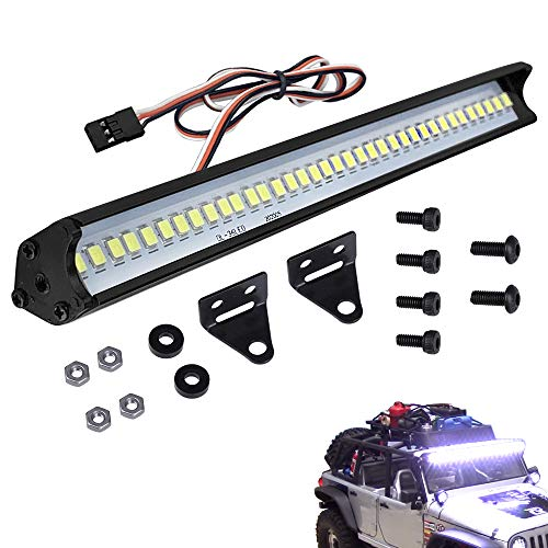 Apex RC Products Super Bright 1//5 Baja 12 LED Headlights W// Pods 4 Lights #9021