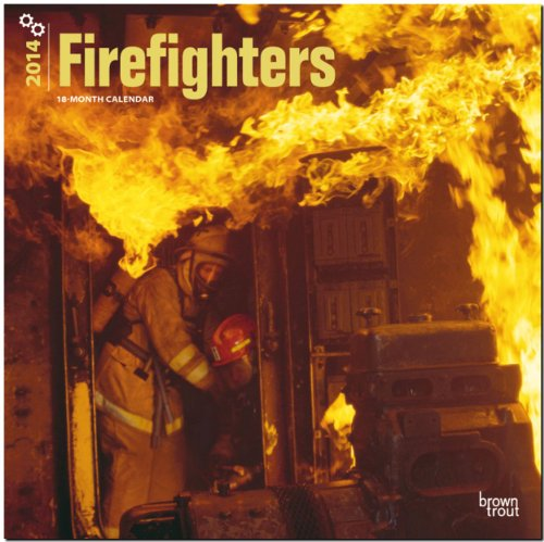 Fire Fighters 2014 - Feuerwehr: Original BrownTrout-Kalender [Mehrsprachig] [Kalender]