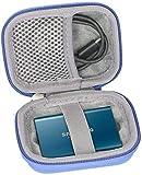 co2CREA Duro Viajar caja estuche funda para Samsung T3/T5 250GB 500GB 1TB 2TB Disco Estado Sólido...