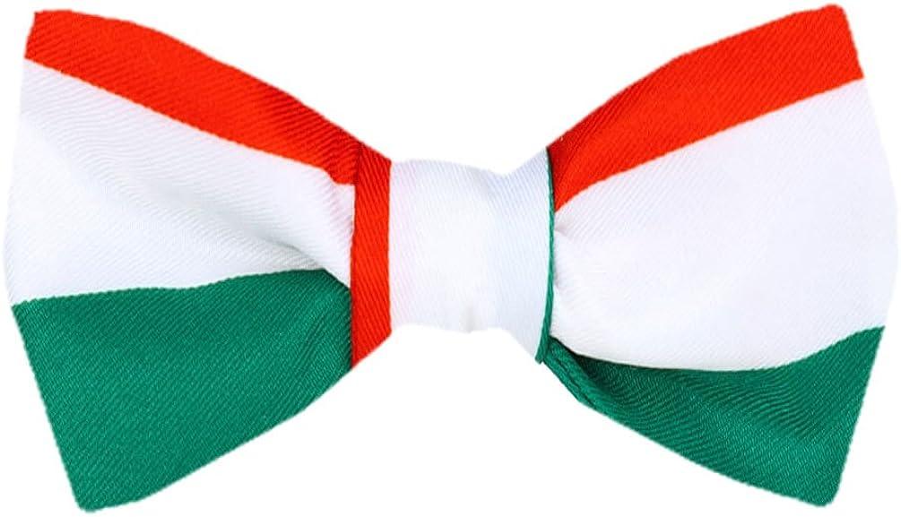 FBT-FLAG-314 - Italian Flag Self Tie Bow Tie