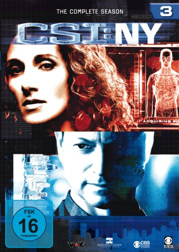 CSI: NY - Season 3 [6 DVDs]