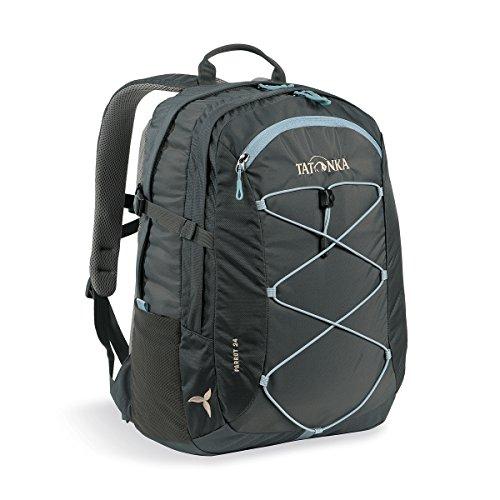 Tatonka Laptop-Rucksack Parrot 24 Women - Daypack für Damen - mit 15 Zoll Notebookfach - fasst mehrere DIN A4-Ordner - 24 Liter - Titan Grey