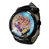 My Hero Academia Reloj con Pantalla táctil Led Resistente al Agua Reloj de Pulsera con luz Digital Unisex Cosplay Regalo Nuevos Relojes de Pulsera niños-A020