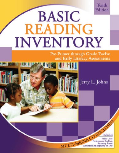 Basic Reading Inventory: Pre-Primer Through Grade Twelve and Early Literacy Assessments With CD-Rom and Student Booklet