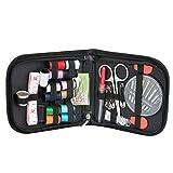 Guilty Gadgets - Kit de Accesorios de Costura portátil para Viajes, Kit para el hogar, Organizador de Suministros de Costura con Tijeras, dedales, Agujas de Costura, Cinta métrica, etc.